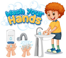 Wash Your Hands Poster Design ...