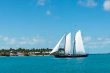 Boat Sailing Along Key West Co...