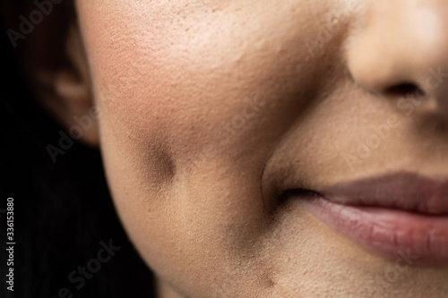 Cheek dimple Canvas-taulu