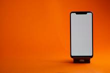 Black Digital Smartphone With ...