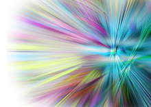 Color Burst Abstract Background