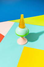 Abstract Colorful Lamps/objects Set Ups