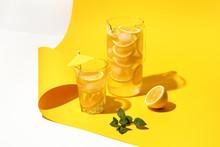 Refreshing Lemon Infused Water...