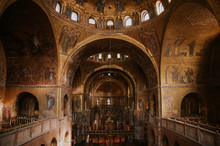 Inside The San Marco Cathedral