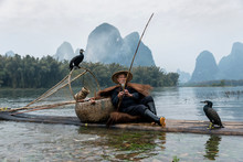 Chinese Traditional Fisherman