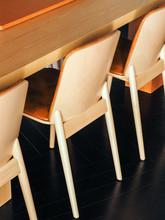 Simple Seats Near Table
