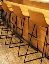 Bar Chairs Near Counter