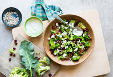 Broccoli Bacon Salad With Drie...