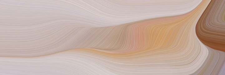 modern futuristic banner with waves. modern waves background design with silver, brown and rosy brown color