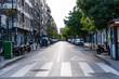 Granada, Spain, May 5, 2020, city emptied in quarantine for the coronavirus