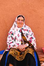 Portrait Of An Elderly Woman W...