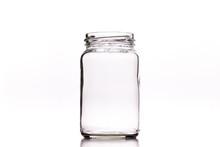 Closeup Shot Of An Empty Glass...