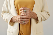 Beautiful Hands Of Aged Woman
