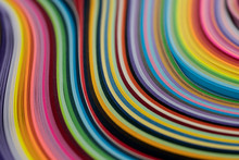 Multi Colored Quilling Paper L...