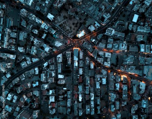 Urban landscape by dawn - 336239487