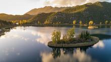 Aerial View Of Bacina Lakes Ne...