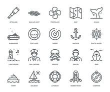 Nautical Icons.