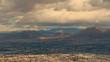 Panoramic View of Las Vegas Nevada Timelapse Clouds Moving USA