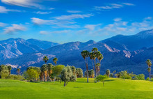 Palm Springs, A City In The Sonoran Desert Of Southern California, Is Known For Its Hot Springs, Stylish Hotels, Golf Courses And Spas. Palm Trees And Green Belts Are Found All Over This Dramatic City