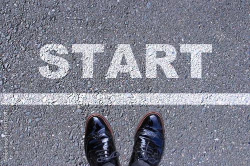 Photo 新しい始まりのスタート頑張ろう Start new beginning