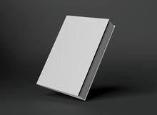 Blank A4 Book Hardcover Mockup...