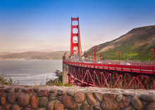 Golden Gate Bridge San Francisco Sunset
