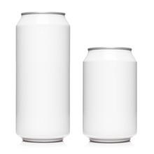White 500ml And 330ml Aluminiu...
