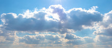 Picturesque Sky With Rays Of S...