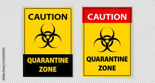Fotografie, Tablou A4 warning sign