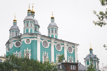 A View Of Smolensk Assumption Cathedral.