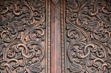 Close Up Of Classical Decorati...