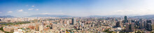 This Is A View Of The Banqiao District In New Taipei Where Many New Buildings Can Be Seen, The Building In The Center Is Banqiao Station, Skyline Of New Taipei City