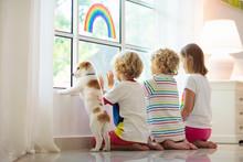 Coronavirus Quarantine. Kids A...