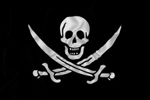 Pirate Flag With Skull And Swords