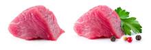 Meat Piece. Meat. Raw Fresh Me...