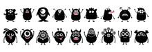 Happy Halloween. Monster Icon ...