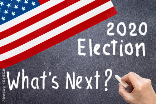 Cuadros en Lienzo 2020 United States of America Presidential Election Background