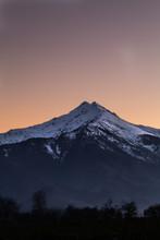 Mount Bisalta At Sunset