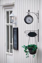 Facade Of A Norwegian House