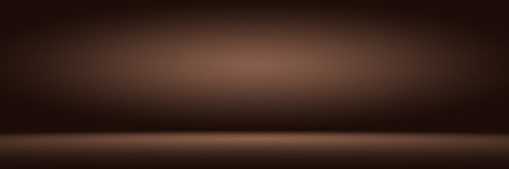 Gradient brown and black abstract background
