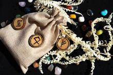 Light Natural Fabric Bag, Wood...