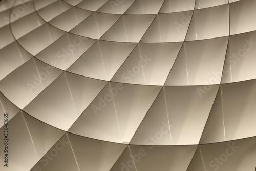 Foto Geometrie luminose di colore grigio