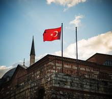The Turkish Flag On The Exteri...
