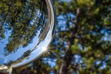 Sun Rays Through A Crystal Ball