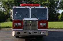 Fire Truck Front View