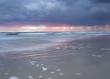 Wschód słońca na wybrzeżu Bałtyku