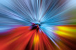 canvas print picture - Abstract explosion of colour background