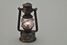 Retro Oil Lamp, Illuminated, I...