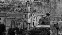 Tha Sassi Of Matera In Black A...