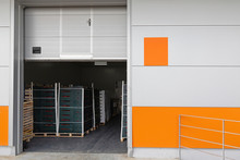 Open Loading Door Warehouse